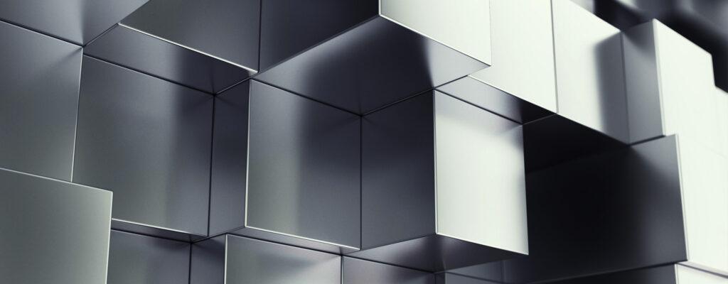Cube Falling Horizontal